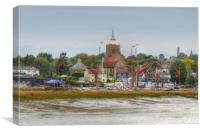 The Hythe  Quay Maldon , Canvas Print