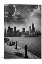 Chicago from Navy Pier, Canvas Print