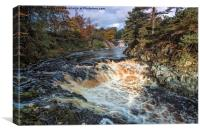 Low Force Waterfalls, Canvas Print