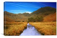 HAYSTACKS FROM BUTTERMERE, Canvas Print