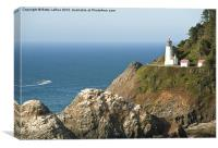 Hecita Head Lighthouse, Canvas Print