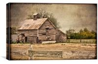 Weathered Barn, Canvas Print