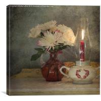 Candlelight, Canvas Print