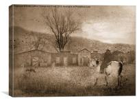 Ghost Town #2, Canvas Print