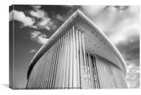 Philharmonie, Canvas Print