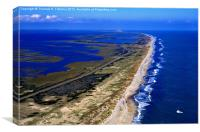 Outer Banks Aerial, Canvas Print