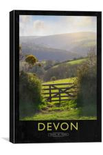 Devon, Canvas Print