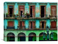 Cuban Streets., Canvas Print