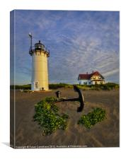 Race Point Lighthouse, Canvas Print