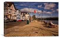 Dartmouth Town, Canvas Print