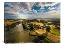 The stunning Patshull Golf course, Country park, Canvas Print