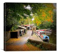 linlithgow color, Canvas Print
