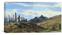 staffin,skye, Canvas Print