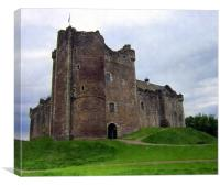 doune castle, Canvas Print
