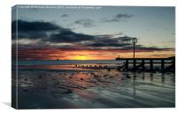 Sunrise at Aberdeen Beach, Canvas Print