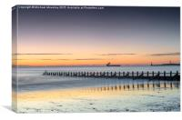 Sunrise Aberdeen Beach , Canvas Print