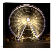 Ferris Wheel, Canvas Print