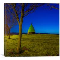Marker Bhuoy at Largs Yacht Haven, Canvas Print