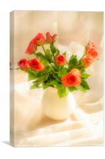 Red Roses, Canvas Print