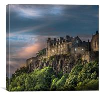Storm Clouds over Stirling Castle, Canvas Print