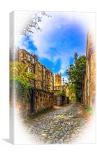 The Byways of Glasgow, Canvas Print