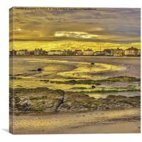 Ardrossan Sunset, Canvas Print