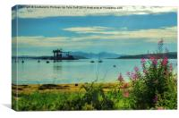 Summer Day at Fairlie, Canvas Print