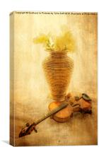 A Little Light Music, Canvas Print