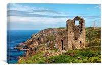 Wheal Edward and Botallack, Canvas Print
