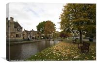 Bourton on the Water, Cotswolds, Canvas Print