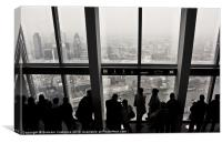 View from The Shard, Canvas Print