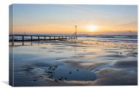 Shanklin, Isle of Wight, Canvas Print