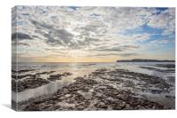 Compton Bay, Isle of Wight, Canvas Print