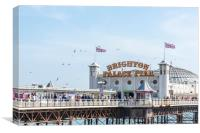 Brighton Palace Pier, Canvas Print