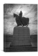 King Robert The Bruce, Canvas Print