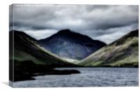 Wasdale Head abstract, Canvas Print