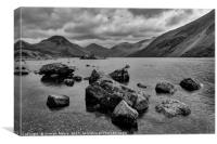 Wastwater stones, Canvas Print