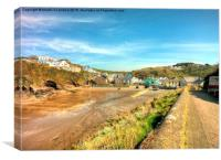 Little Haven, Pembrokeshire, Canvas Print