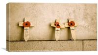 For the Fallen, Canvas Print