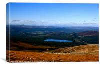 Cairn Gorm Summit View, Canvas Print