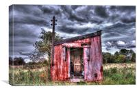 The Red Shed, Canvas Print