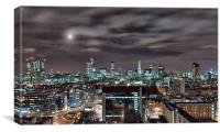 London Nights 3, Canvas Print