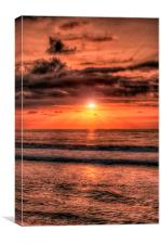Balearic Sunrise, Canvas Print