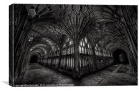 :The Cloisters:, Canvas Print