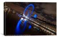 :The Eye of London:, Canvas Print