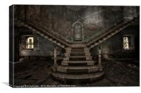 :Stairway to Hell:, Canvas Print