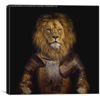 Leo The Lionheart, Canvas Print