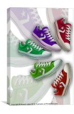 Its all about feet collection 1, Canvas Print