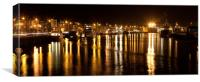 Great Yarmouth River, Canvas Print