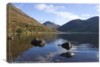 Wastwater lake District Cumbria, Canvas Print
